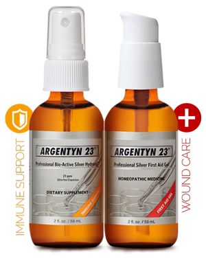 bottles of Argentyn 23 for Practitioners